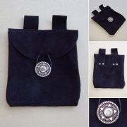 Medieval Suede Pouch